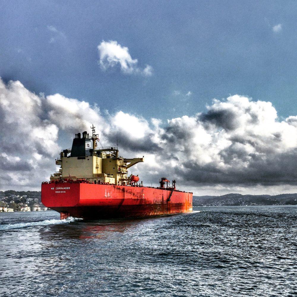 ammonia and methanol ship